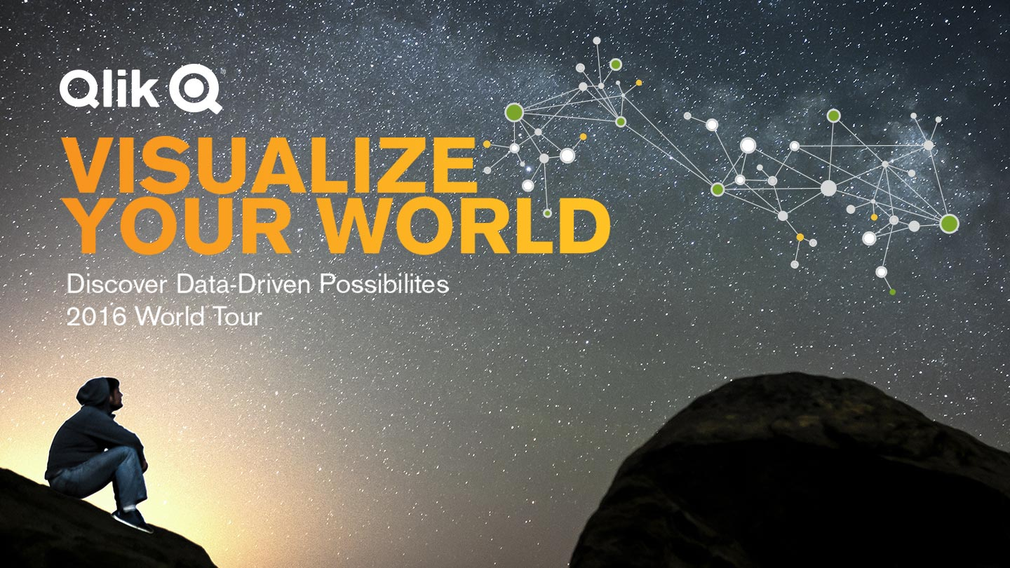 Qlik® Visualize Your World Tour North America