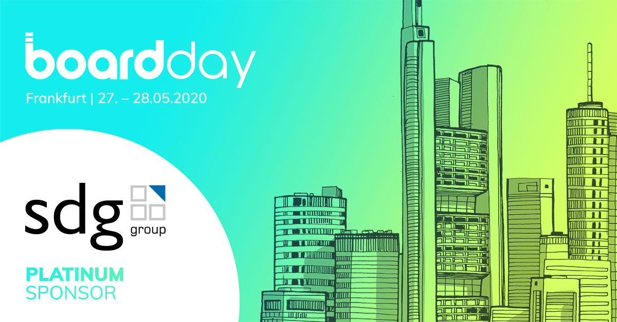 Board Day 2020 | Platin Sponsor SDG Group