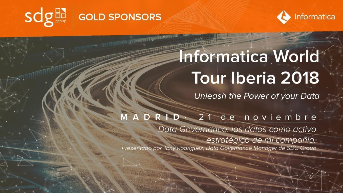 Informatica World Tour Madrid 2018