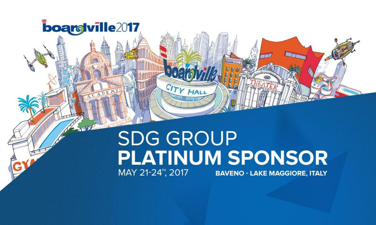 SDG GROUP: BOARDVILLE 2017 PLATINUM SPONSOR