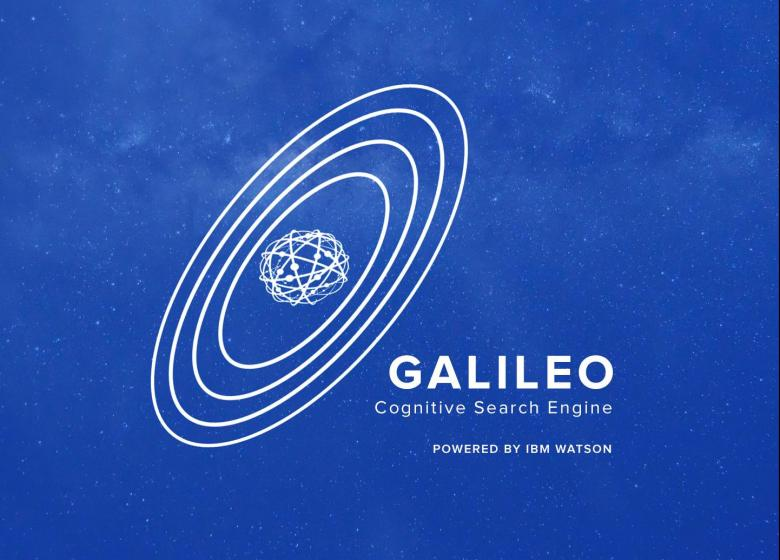 Galileo, a novel search engine turning unstructured text into actionable insights