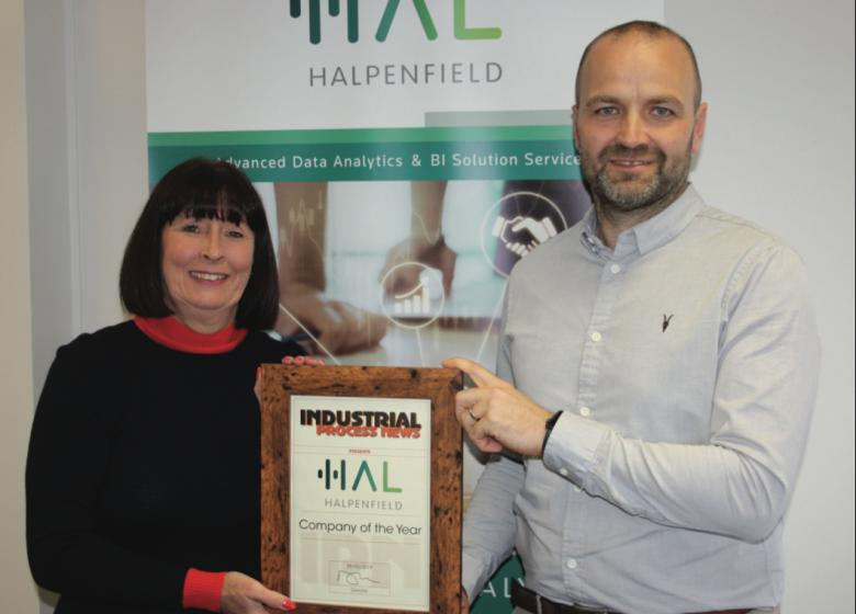 Halpenfield (now SDG Group UK) named as Industrial Process News 'Data Analytics Specialist Company of the Year, 2019'